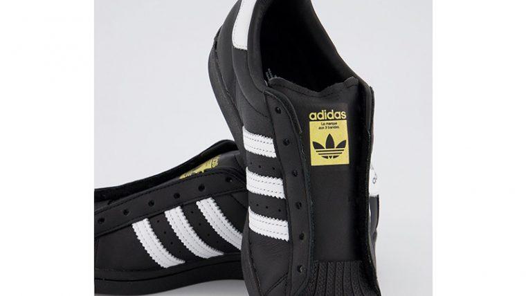 adidas Superstar Black White middle thumbnail image