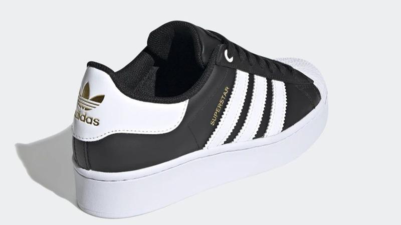 adidas Superstar Bold Black White FV3335 back