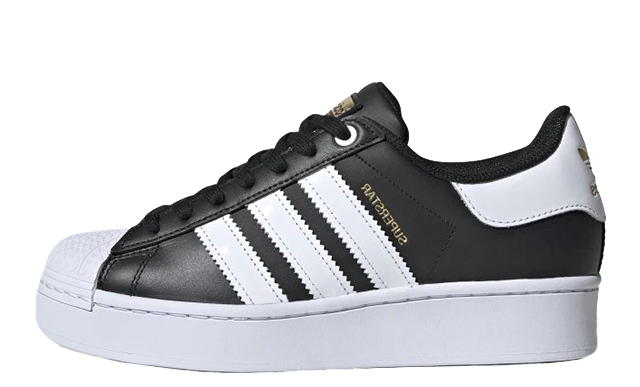 adidas Superstar Bold Black White FV3335