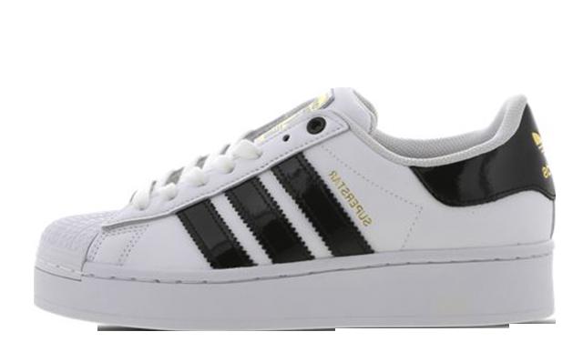 adidas Superstar Bold White Black FV3336
