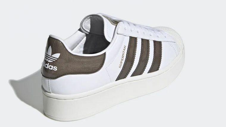 adidas Superstar Bold White Black FV3356 back thumbnail image