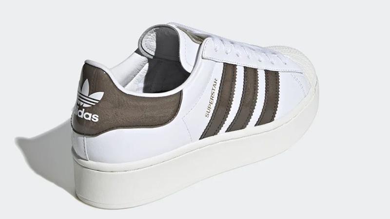 adidas Superstar Bold White Black FV3356 back
