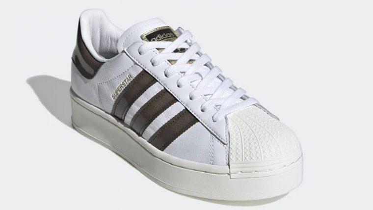 adidas Superstar Bold White Black FV3356 front thumbnail image