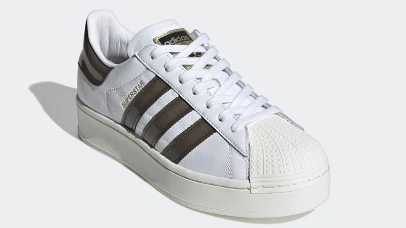 adidas Superstar Bold White Black FV3356 front