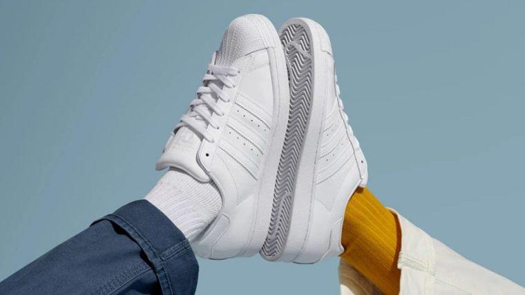 adidas Superstar Cloud White EG4960 lifestyle thumbnail image