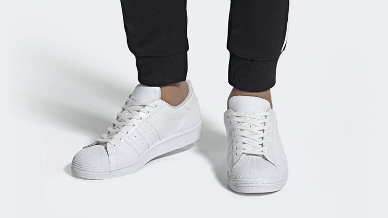 adidas Superstar Cloud White EG4960 on foot
