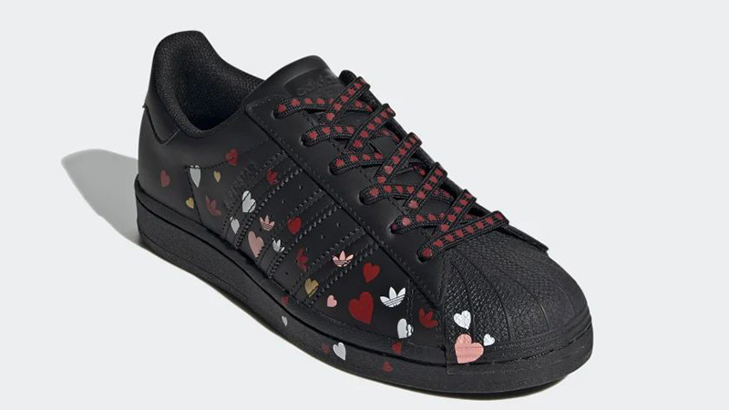 adidas Superstar Valentines Day Black FV3288 front