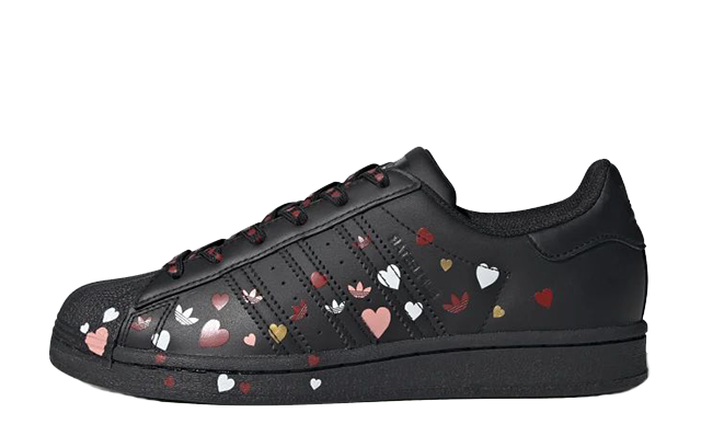 adidas Superstar Valentines Day Black FV3288 thumbnail image