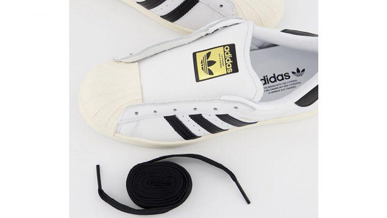 adidas Superstar White Black middle thumbnail image