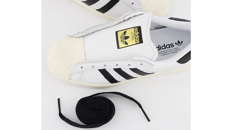 adidas Superstar White Black middle