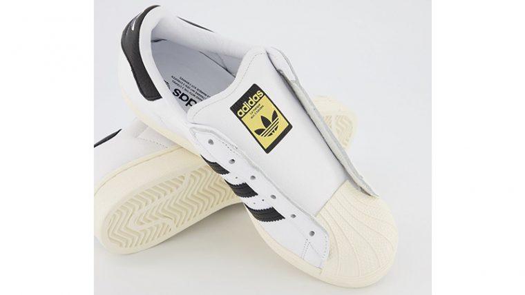 adidas Superstar White Black tongue thumbnail image