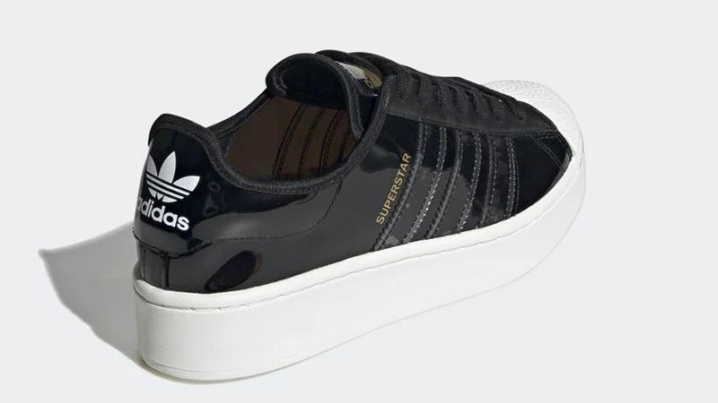 adidas Superstart Black White FW8423 back