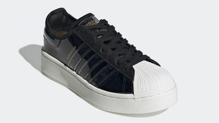 adidas Superstart Black White FW8423 front thumbnail image