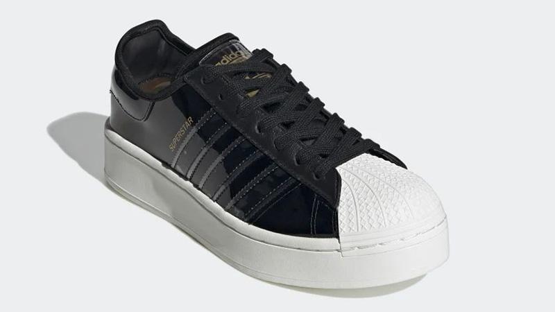 adidas Superstart Black White FW8423 front