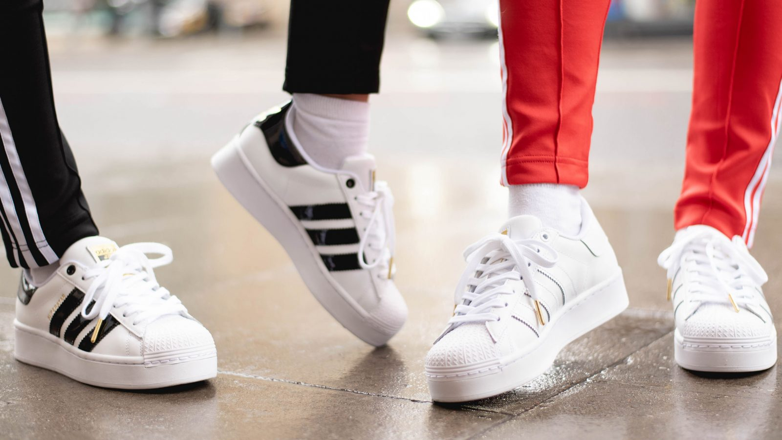 adidas superstar bold the sole womens