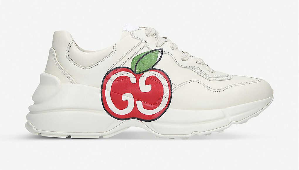 gucci Rhyton apple-print