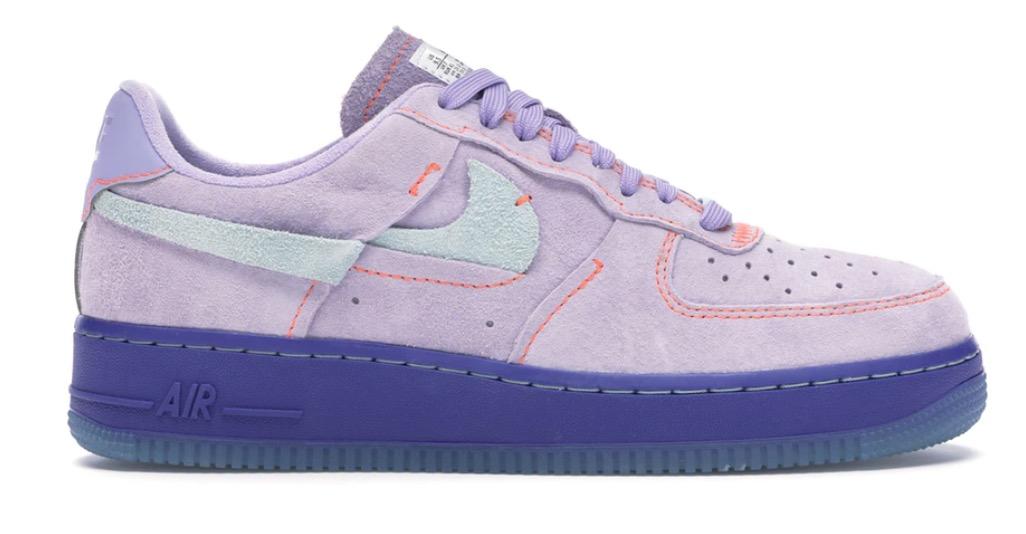 nike air force 1 purple agate