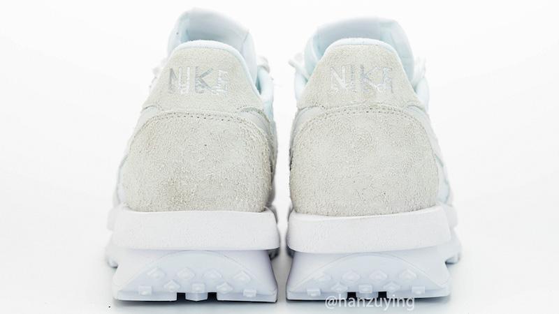 sacai x Nike LDWaffle White BV0073-101 back