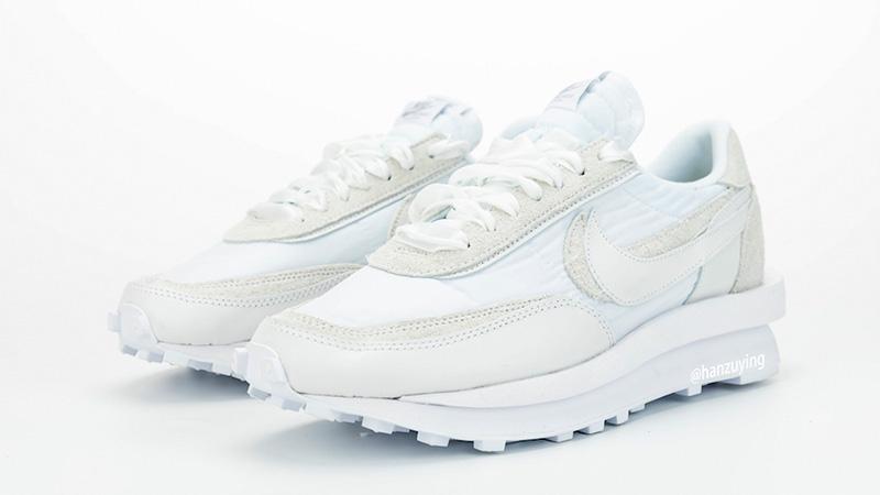 sacai x Nike LDWaffle White BV0073-101 front
