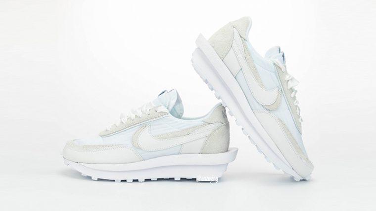 sacai x Nike LDWaffle White BV0073-101 side thumbnail image