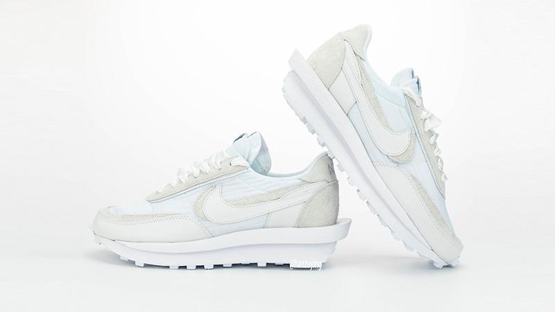 sacai x Nike LDWaffle White BV0073-101 side