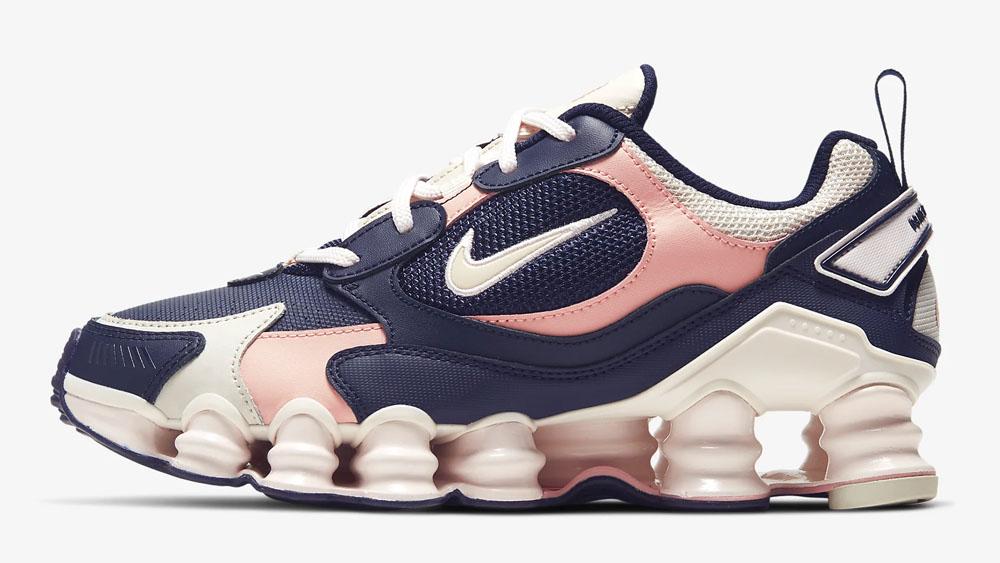 Nike Shox Nova Pink Blue