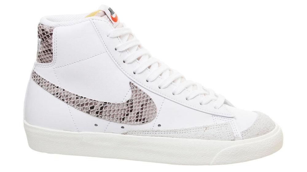 Nike Blazer Reptile White