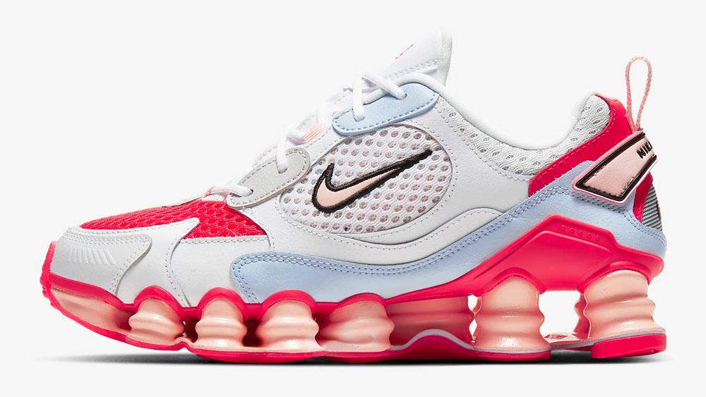Nike Shox Nova Crimson Hydrogen Blue