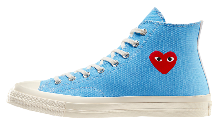 Comme des Garcons Play x Converse Chuck Taylor All Star 70 Blue | 168300C