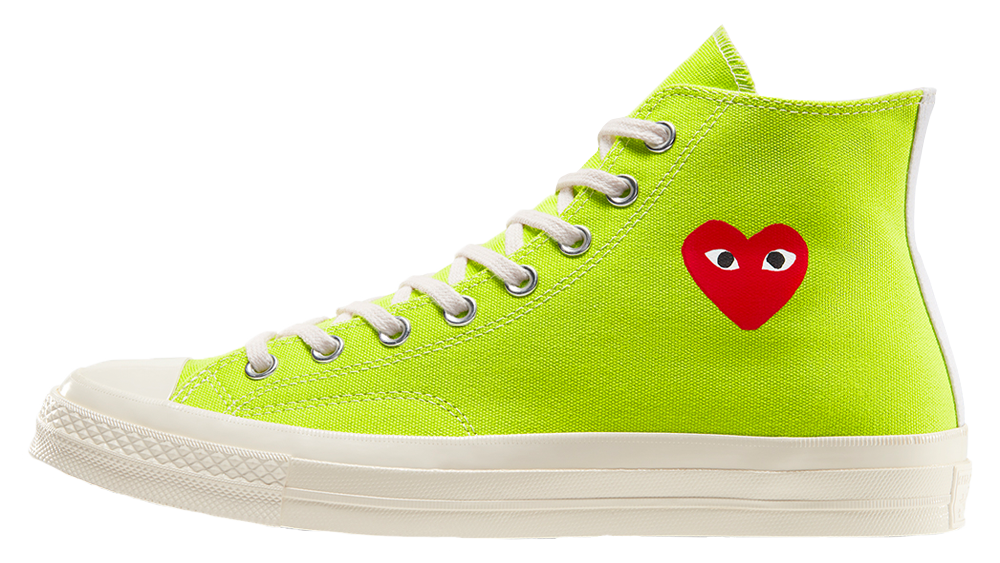 Comme des Garcons Play x Converse Chuck Taylor All Star 70 Green | 168299C