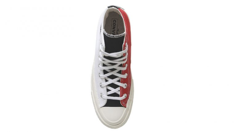 Converse All Star Hi 70s White University Red Middle thumbnail image