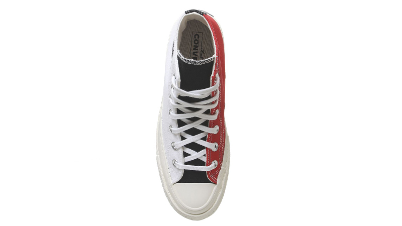 Converse All Star Hi 70s White University Red Middle