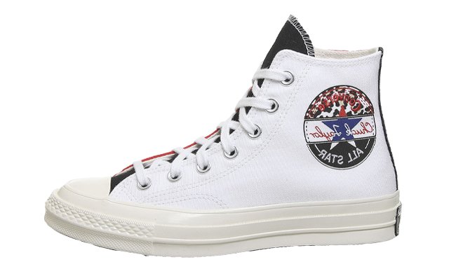 Converse All Star Hi 70s White University Red