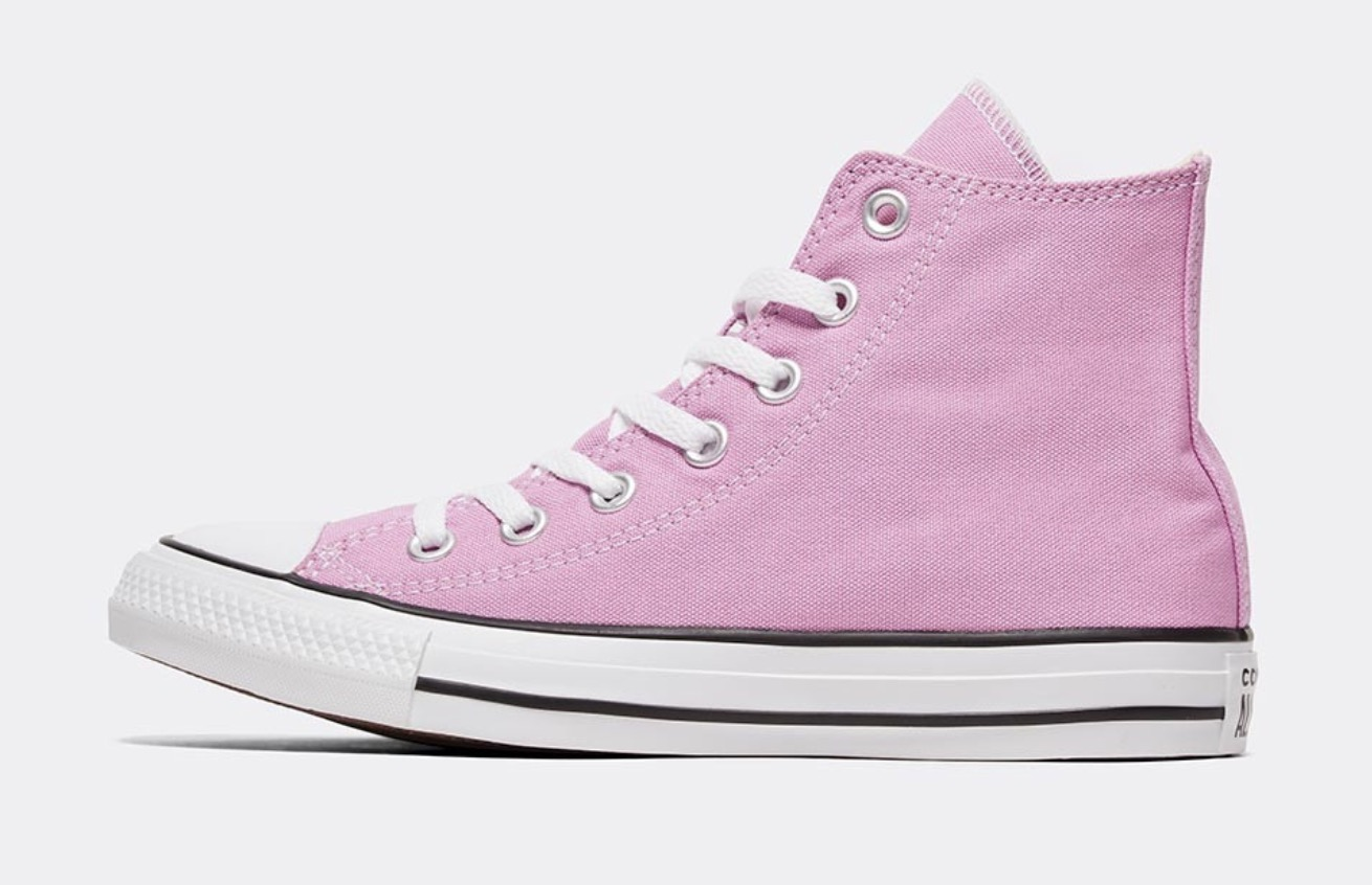Converse All Star High Pink white