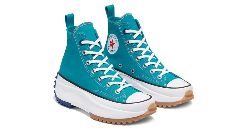 Converse Runstar Hike Blue White Front