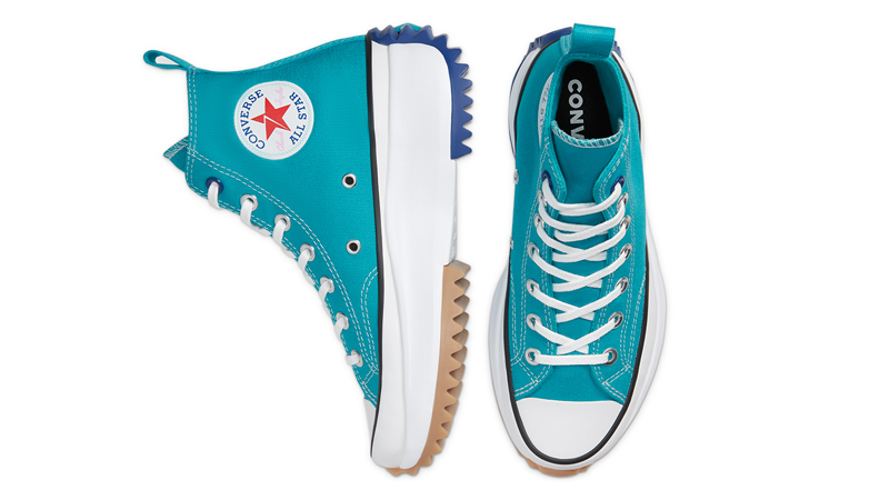 Converse Runstar Hike Blue White Middle