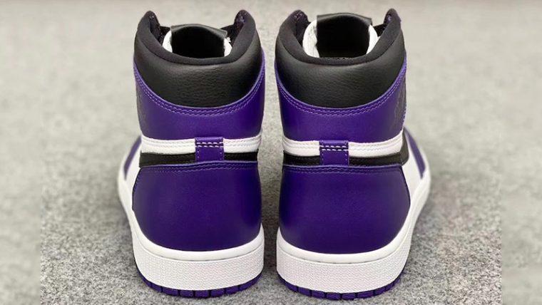 Jordan 1 Court Purple 2020 Back thumbnail image