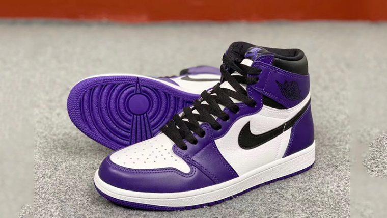 Jordan 1 Court Purple 2020 Front thumbnail image