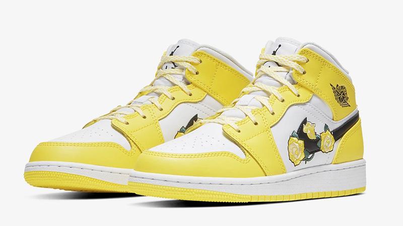 Jordan 1 Dynamic Yellow AV5174-700 front