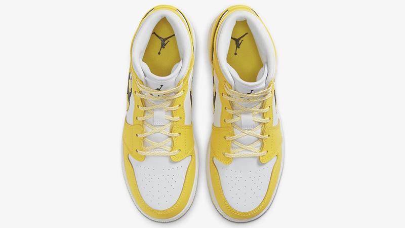 Jordan 1 Dynamic Yellow AV5174-700 middle