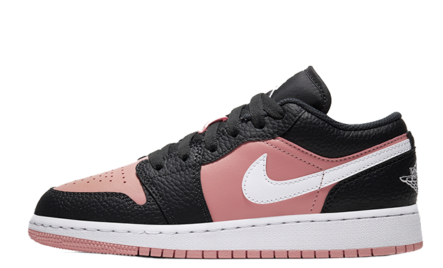 Jordan 1 Low GS Pink Grey