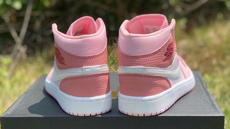 Jordan 1 Mid Digital Pink Lifestyle On Box Back thumbnail image