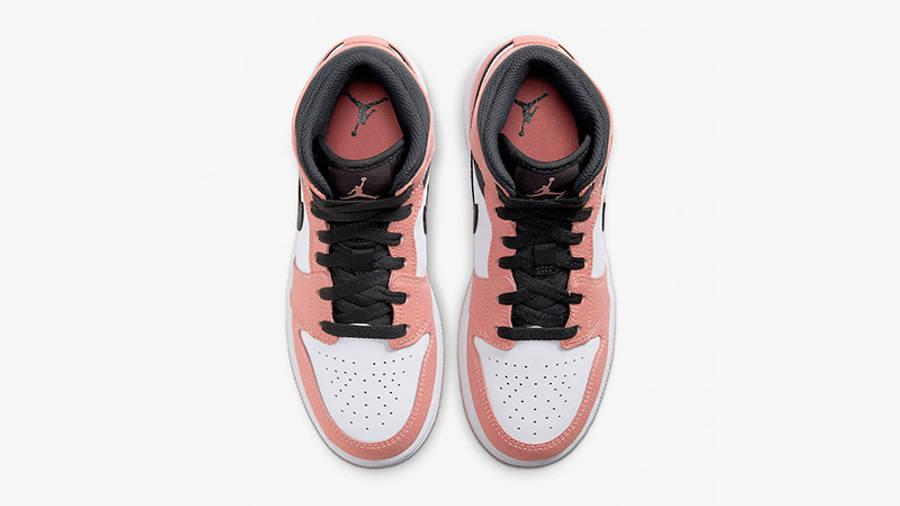 Jordan 1 Mid GS Pink Quartz | Where To Buy | 555112-603 | The Sole ...
