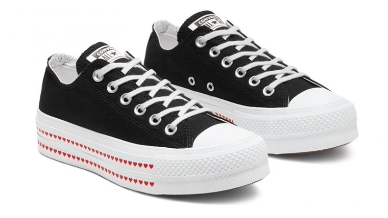 Love Fearlessly x Converse Chuck Taylor All Star Black Front thumbnail image