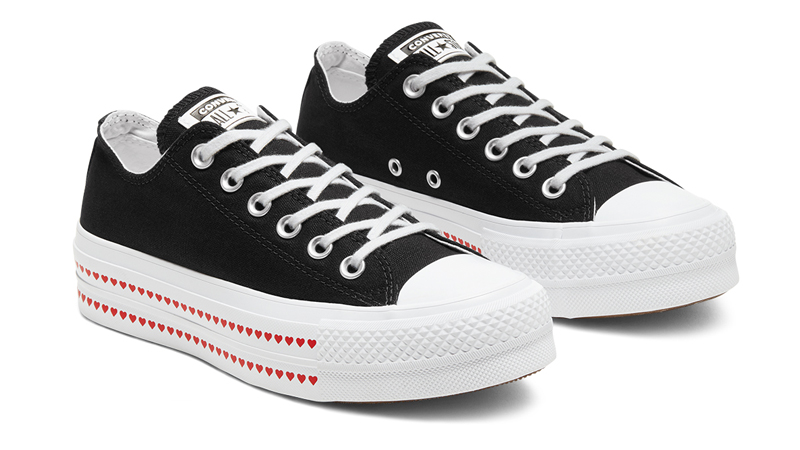 Love Fearlessly x Converse Chuck Taylor All Star Black Front
