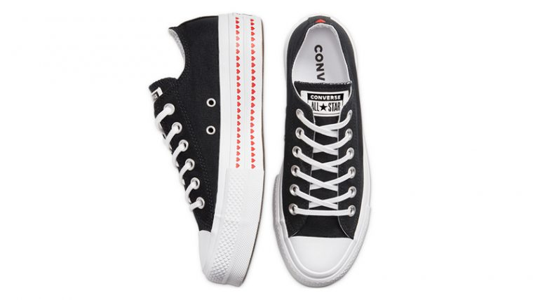 Love Fearlessly x Converse Chuck Taylor All Star Black Middle thumbnail image