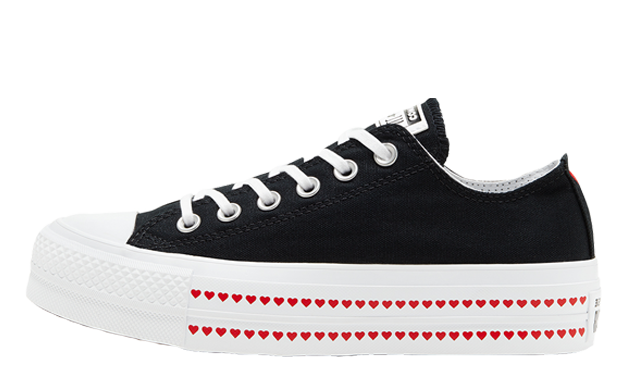 Love Fearlessly x Converse Chuck Taylor All Star Black
