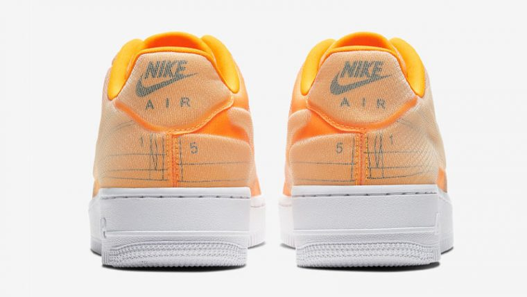 Nike Air Force 1 07 LX Orange Back thumbnail image