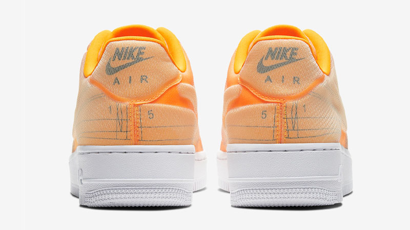 Nike Air Force 1 07 LX Orange Back