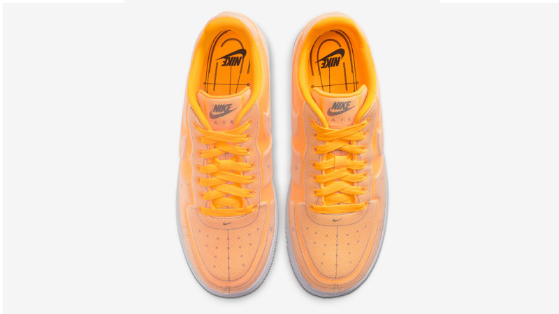 Nike Air Force 1 07 LX Orange Middle